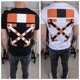 Стильная мужская футболка,2 цвета S-XL