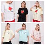 Стильные футболочки - 44-52 размер ///замеры