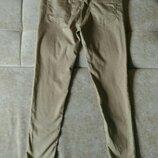 Лёгкие женские джинсы Denim&Co бежевого пудрового цвета размер 10