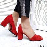 К-2015 туфли женские, туфли, туфли Натуральная замша, туфли замшевые