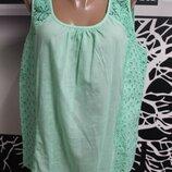 хлопковая блузка Tu в идеальном состоянии XL