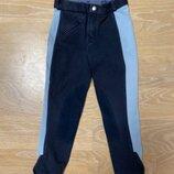 Конный спорт Штаны 116 см детские Equilibre синие голубые фирменные