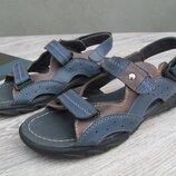 Кожаные сандали для мальчика,подростковые