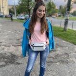 107 Сумка на пояс карман бананка кошелёк мужская женская дорожная стильная