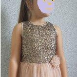 Нарядное платье Next 7 лет