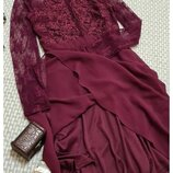 Платье сетка Nlyone/с вышивкой, р. S