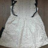 Бомбовое ажурное платье Next на 5-7 лет Идиальное состояние