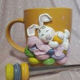 Чашка с зайкой