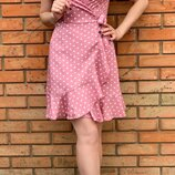 платье Ткань штапель Цвет красный, розовый, белый, голубой