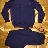 Мужской спортивный костюм MXTIM Sport трикотажный темно-синий