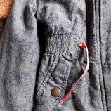Куртка петровка демисезонная джинс
