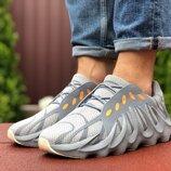 Adidas Yeezy 451 кроссовки мужские демисезонные серые 9454