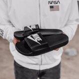 Мужские тапки Nike Slippers Black | 41-45.