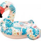 Надувной плотик Intex 57559 Тропический Фламинго, 142х137х97 см