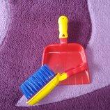 Іграшкові лопатка та щіточка