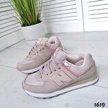 Акция Женские розовые кроссовки New Balance 40