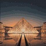 Картина по номерам Ночной Лувр GX29706