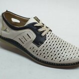 Мужские летние туфли D6951