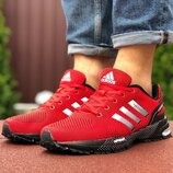 Кроссовки Adidas Marathon,сетка,красные