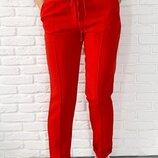 Стильные брюки с высокой посадкой 42 44 46 48 50 52р,285грн 5цветов