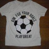 Футболка с пайетками - перевертышами H&M на 5-6 лет