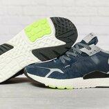 Кроссовки мужские Adidas 3M, темно-синие