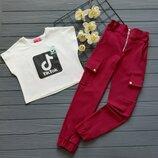 Костюм штани і футболка
