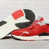 Кроссовки мужские Adidas 3M, красные