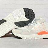 Кроссовки мужские Adidas 3M, белые