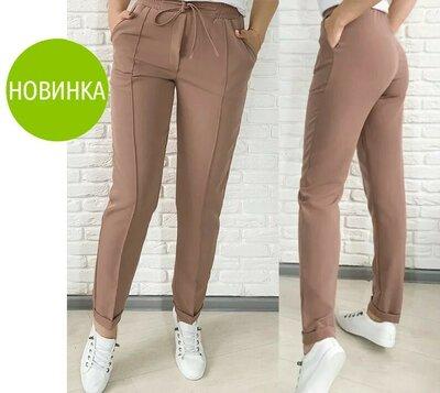 Стильные женские брюки с высокой посадкой Indigo 5 расцветок 42-54