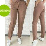 Стильные женские брюки с высокой посадкой Indigo 5 расцветок 42-52