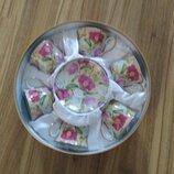 Сервиз набор на подарок чашка миска