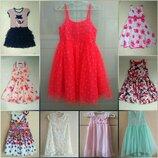 Платье платья фирменные 5-7 л