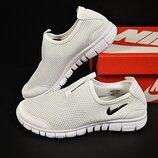 подростковые кроссовки Nike Free 37-41р белые