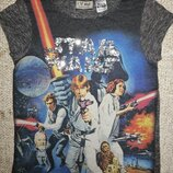 7-8 лет, футболка Star Wars, Сток