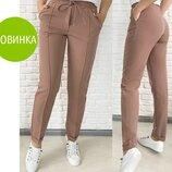 Стильные женские брюки с высокой посадкой Indigo