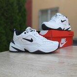 Кроссовки мужские Nike M2 Tekno Белые с чёрным