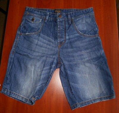 джинсовые шорты размер S Solid мужские подростковые