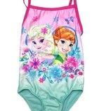 Цельный купальник холодное сердце для девочки, Frozen, Disney