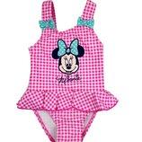 Купальник с оборкой для девочки, Минни Маус, Disney baby
