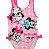 Розовый купальник в горох с Минни Маус для девочки, Disney baby