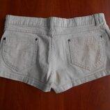 светлые шорты короткие джинсовые Деним 10 размер