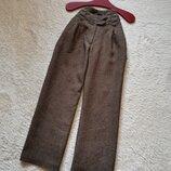 Кюлоты брюки лен размер 36 H&M