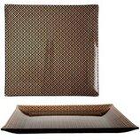 Тарелка квадратная Аргайл 25 см