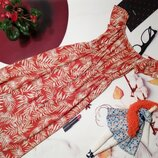 Модное платье-комбинезон Primark, 100% вискоза, размер 6/34 или XS