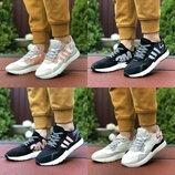 9444-47 Кроссовки женские Adidas Nite Jogger Boost 3M