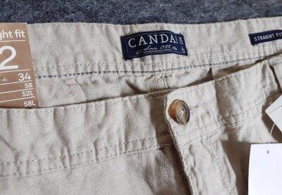 Новые большие льняные штаны размер 40