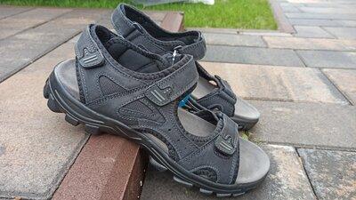 Босоножки сандалии мужские кожаные RESTIME Р. 36-45