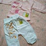 Кофта и ползунки для новорожденной