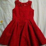 Платье детское нарядное пишное 6 - 7 лет george